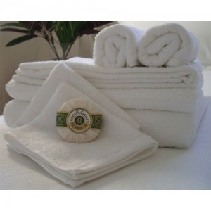 Towel White - 60 x 120cm -Small Hospital Towel