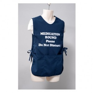 Medication Round Apron - Blue