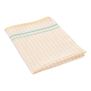 Small Check Tea Towel - Pack of 12