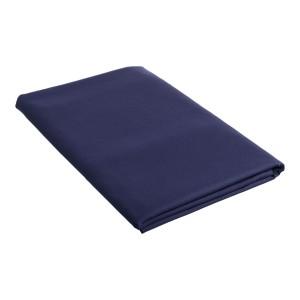 Single Flat Sheet 50 / 50 Poly Cotton - Navy