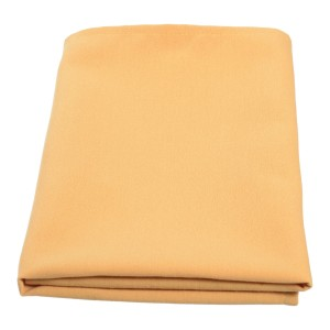 Table Overlay 100% Spun Polyester 90 x 90cm Gold
