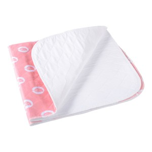 Large Pinkie Pad Linen Protector - Cotton/Polyester Top - PU Laminated Backing