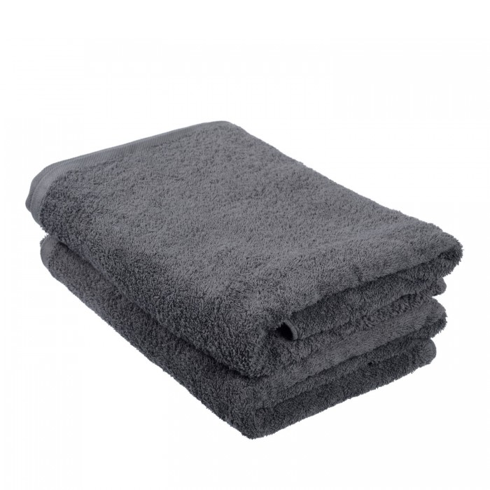 Towel Vat Dyed - Charcoal Grey 70 x 140cm