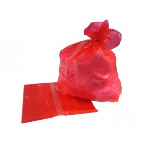 Soluble Seam Bags 720x990mm (ctn 200), Red