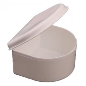 Denture Bath, White - DBATH-W
